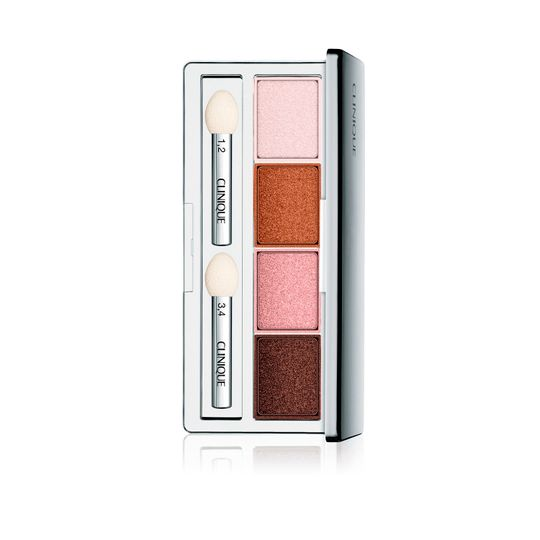 MEDPIEL-Sombra De Ojos All About Shadow Quad Pink Chocolate 4.8g - Clinique-